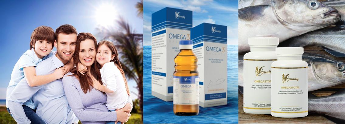 Omega 3 TOTAL in Omega 3 BALANCE